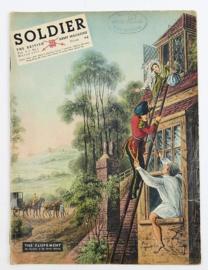 The British Army Magazine Soldier Vol.9 No 1 March 1953 -  Afkomstig uit de Nederlandse MVO bibliotheek - 30 x 22 cm - origineel