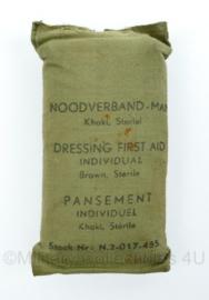 MVO jaren 50 en 60 noodverband - khaki - origineel