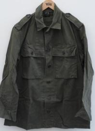KL VT M58 (visgraaddessin) uniform jasje 1957 eerste model ! - oud model diensttijd - borst maat 112 !- origineel