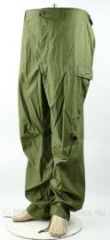 US Army Vietnam oorlog Jungle trouser utility hot weather OG507 3rd pattern - Xlarge-long - gedateerd 1970 - nieuw maar heeft scheurtje - origineel