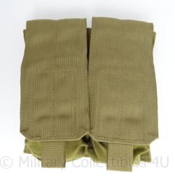 KL Nederlandse leger en US Army M4 Double mag pouch Eagle Industries - ongebruikt - 19 x 16 x 6 cm - origineel