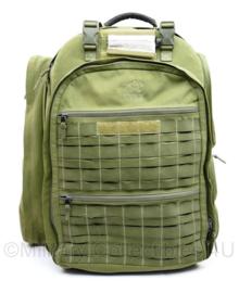 Rugzak Tasmanian Tiger Medical backpack groen - met Medische toebehoren - 53 x 45 x 25 cm - origineel
