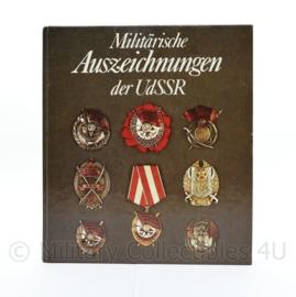 Naslagwerk Militärische auszeichnungen der UdSSR - origineel