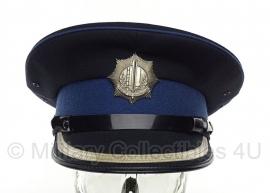 Gemeentepolitie platte pet Inspecteur - maat 58 -  origineel