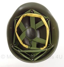 US Army binnenhelm kunststof helm met lederen zweetband - replica