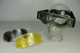 Scherfwerende bril type Bolle Defender - ongebruikt - complete set met tas - origineel