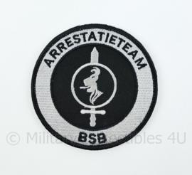 KMAR Koninklijke Marechaussee BSB Arrestatieteam embleem - met klittenband - diameter 9 cm