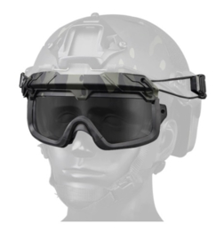 Tactical Airsoft Goggles voor MICH FAST helm - GROEN (zonder helm)