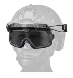 Tactical Airsoft Goggles voor MICH FAST helm - GROEN (zonder helm)