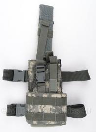 US Army Molle II ACU camo Holster UNIVERSAL Modular Ambidextrous Drop leg Holster  - origineel