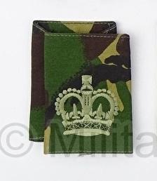 Britse DPM camo ENKEL schouderstuk - Warrant Officer 2 - origineel