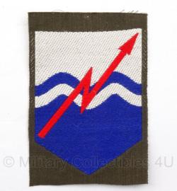 """KL DT eenheid embleem """"Commando Verbindingen"""" - 5 x 7,5 cm - origineel"""