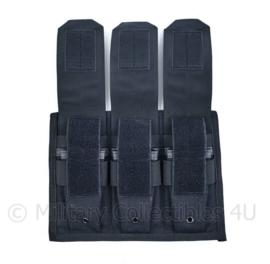 Special Forces US en Nederland MP5 Triple magazine pouch - speciaal gemaakt -27 x 20 x 3 cm- origineel