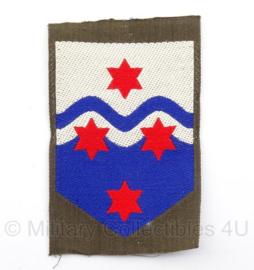 KL Nederlandse leger DT Nationaal Logistiek Commando embleem - 8 x 5 cm - origineel