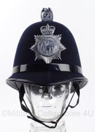 "Britse Police bobby helm ""Northumbria police"" - origineel"