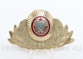 USSR Russische leger pet insigne Officier  - 9 x 4,5 cm - origineel