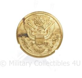 Wo2 US Army messing grote knoop voor op de overjas mantel - diameter 3 cm - origineel WO2