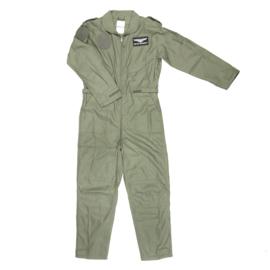 Piloten overall nieuw gemaakt F16 - Groen