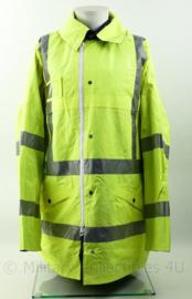 Britse High conspicuity overjacket reversible yellow blue - maat Xlarge - origineel