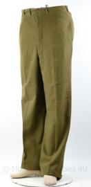 WO2 Amerikaanse Class A trouser wool - omtrek 80 cm - origineel