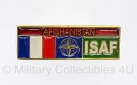 Afghaanse speld ISAF Frankrijk - origineel