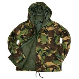 Commando Parka met uitneembaar Fleece vest - showmodel - maat Large - KL woodland DPM camo
