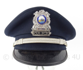 US Dover Police state of New Hampshire pet  - maat 7 3/8 - origineel