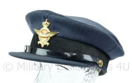 Platte pet KLU Luchtmacht Militaire Academie  GLT Maat 58  - Origineel