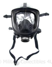 Zwart modern Fernez by Willson brandweer en Speciale eenheden DSI gasmasker met breed zichtveld zeldzaam model! -  origineel