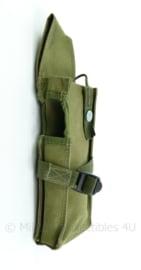 Nederlands leger groene portofoon koppel tas- 28x8,5x4,5cm - origineel