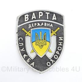 Oekraïense politie embleem Bapta - 10 x 7  cm - origineel