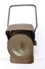 WO2 Britse lantaarn lamps electric No1 JL Ltd - 9,5 x 7 x 8 cm - origineel