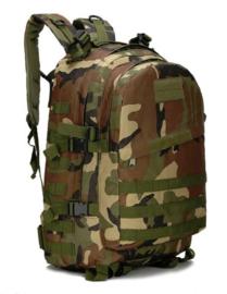 Nederlands leger model Daypack Grabbag Day Pack  LMB WOODLAND  35 liter - MOLLE - nieuw gemaakt