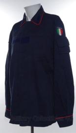 Italiaanse Carabinieri gevechtsjas met origineel ITALIA embleem en rode bies - maat 52 - origineel