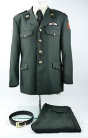 KCT Korps Commando Troepen compleet DT2000 uniform met parawing - Luitenant Kolonel - maat 52 1/4 - origineel