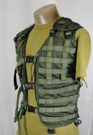 KL OPS Modulair gevechtsvest - Molle - zonder tassen - GROEN - maat Medium of Large - origineel