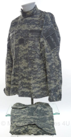 US Army BDU jas en broek - ACU camo - Med-Reg - maker MFH