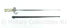 WO1 Franse lebel Bajonet M1886 - 65,5x7x1,5 cm - origineel