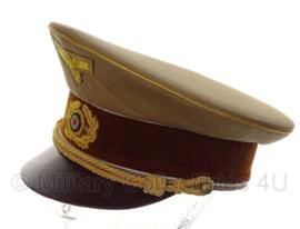 AH Fuhrer Schirmmütze - partijuitvoering - 58 tm. 60 cm.
