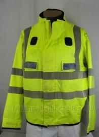 Britse Traffic Police politie jas geel reflecterend - Traffic Warden - maat XXL Tall - origineel -