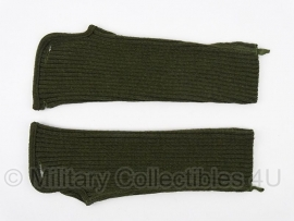 leger hand- en polswarmer Wristlets - groen  - origineel