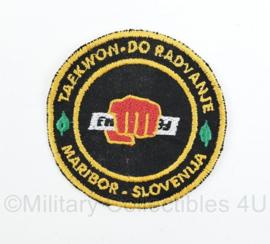 Maribor Slovenië Taekwondo embleem - origineel