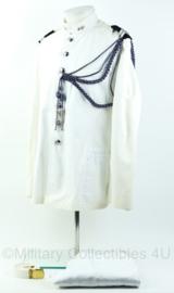 Kmar Marechaussee toetoep zomer uniform set met koord en riem! - opperwachtmeester - maat 50 - origineel