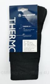 Defensie BATA Industrials sokken themo Sok zwart Dun- schoenmaat 39-42 - nieuw met het kaartje er nog aan - origineel