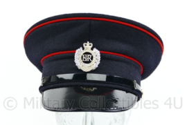 Britse leger Royal Engineers visor cap met insigne - maat 55 cm - origineel