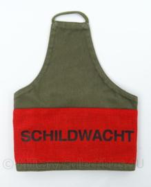 "KL armband / schouderband ""Schildwacht""- origineel"