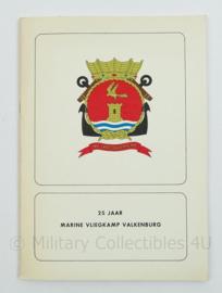 Boekje 25 jaar Marine vliegkamp Valkenburg - origineel