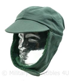 KL Nederlandse leger burgerpersoneel wintermuts groen - maat 59 cm - NIEUW - origineel