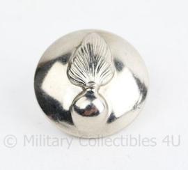 Kmar Marechaussee knoop 24 MM  zilver - origineel