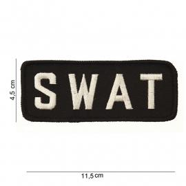 Uniform embleem - SWAT met klitteband -  11,5 x 4,5 cm.